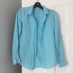 Pale blue Lilly Pulitzer shirt
